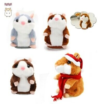 2019 Cute Talking Hamster Nod Mouse Record Chat Mimicry child Plush Toy Gift
