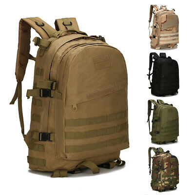 55L Molle Outdoor Sport Military Tactical Bag Camping Hiking Trekking Backpack