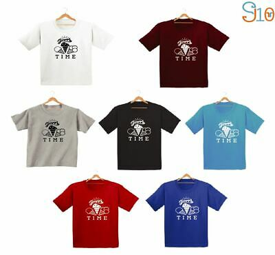 Summer Ice Cream Printed Kids Boys Girls T Shirts Fashion Cute Funny Gift Dope
