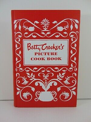 1998 2005 1950's BETTY CROCKER'S PICTURE COOK BOOK Excellent Beautiful Recipes