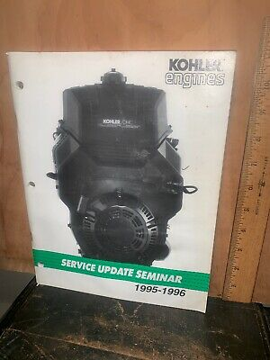 Kohler Engines Service Update Seminar 1995-1996