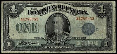 1923 Dominion of Canada Large Note
