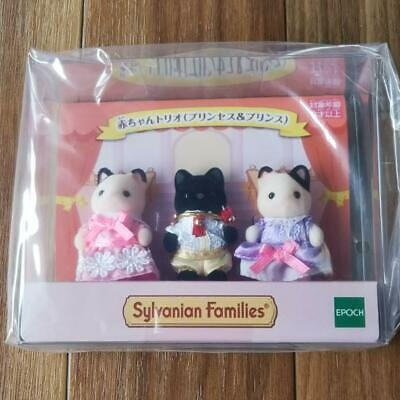 Sylvanian Families Epoch Doll House Mini Baby Trio Prince Princes Girl Toy 118