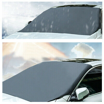 Magnetic Car Front Windscreen Snow Ice Shield Cover Windshield Sun Shade Visor