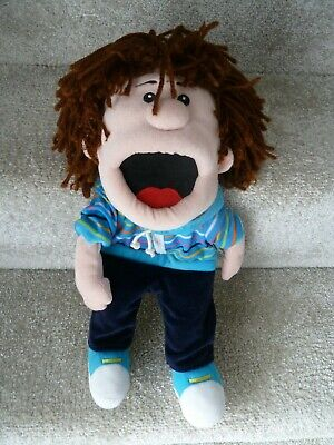 Fiesta Crafts Boy Moving Mouth Hand Puppet