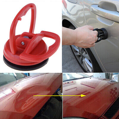Suction Cup Dent Puller Car Fix Mend Truck Auto Dent Body Repair Mover Tool Red