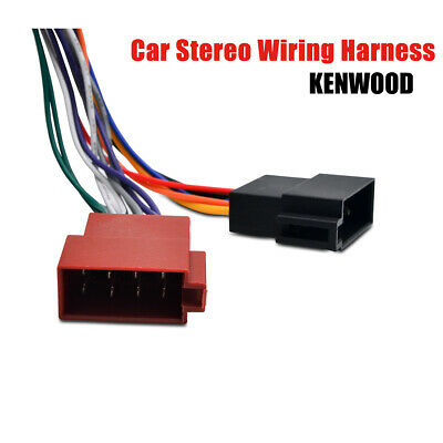 ISO WIRING ADAPTOR Harness Stereo Radio Connector Cable Loom