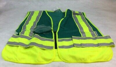 High Visibility Reflective Safety Vest MIX Size LOT of 7