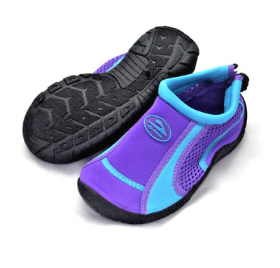 Aqua Beach Surf Wet HOLIDAY WATER SHOES Boys Girls Mens Womens Purple & Blue