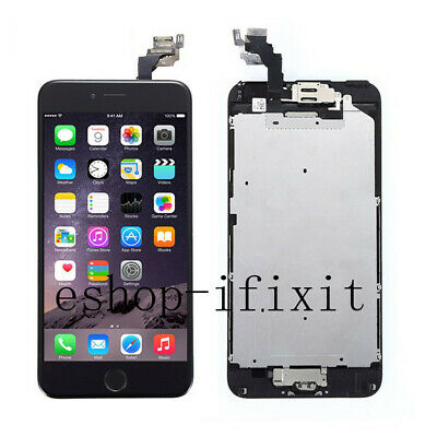 OEM LCD Display Touch Screen Digitizer Replacement Home Button For iPhone 6 Plus
