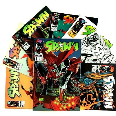 Spawn Comic Book Lot 8 Issues Image VF NM 7 8 10 21 22 23 24 26