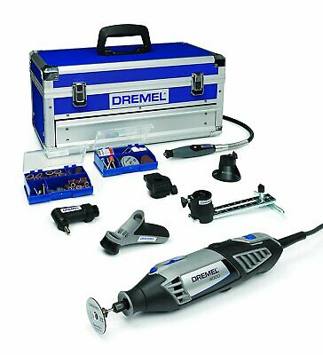 Dremel Platinum Edition 4000-6/128 Multitool Case 6 Attachments,128 Accessories