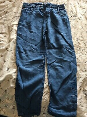 Next Wedding Linen Boys Trousers Age 10