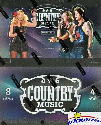 2014 Panini Country Music Factory Sealed HOBBY Box-4 AUTOGRAPHS/HITS