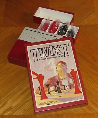 TWIXT - Vintage 1962 3M Bookshelf Strategy Board Game - Complete & Nice
