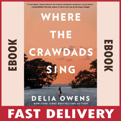 Where the Crawdads Sing By Delia Owens 🔥Best Seller 🔥 🎁epub, pdf, mobi 🎁