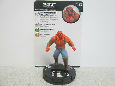 Heroclix Deadpool and X-Force # 012 Grizzly