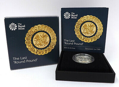 2016 Last Round Pound UK 1£ Brilliant Uncirculated Coin Royal Mint Commemorative