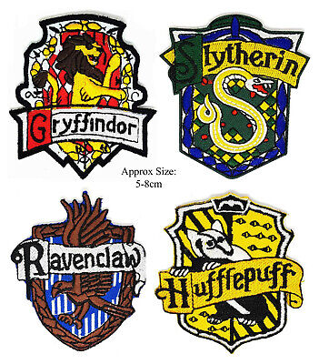 Harry Potter Quidditch 9cm x 10cm Patch Embroidered Sew or Iron on Badge