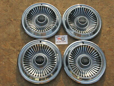 "1966 Buick Riviera 15"" Wheel Covers, Hubcaps, Set Of 4"