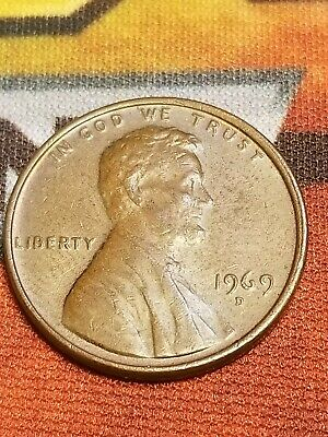 1969 D LINCOLN Penny No (Fg) Great Coin ***Seen In Pic*** - $3 39