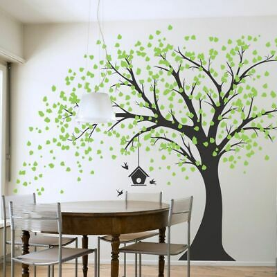 Large Tree Wall Stickers Removable Nursery Decal Mural Home Room Decor