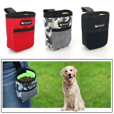 Dog Waist Bag Treat Carries Feed Puppy Snack Food Pet Training Bait Pocket Pouch