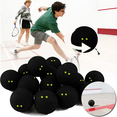 Pro Player Competition Squash Ball Two Yellow Dots Low Speed Accessory