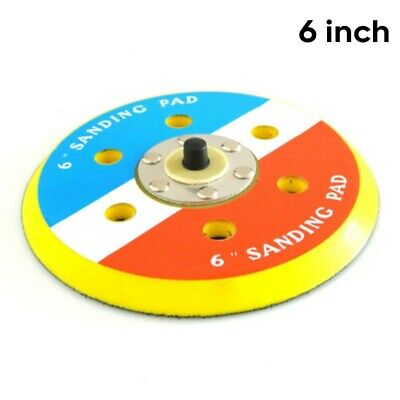 Dual Action Random Orbital Sanding Pad 12000RPM Sander Polish Wheel 6inch/147mm