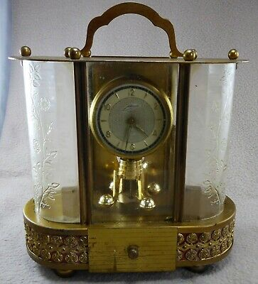 Vintage Schmidt Clock with Reuge Musical Movement (for repair)