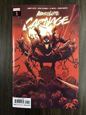 Absolute Carnage #1 (2019) Ryan Stegman Cover A Donny Cates Marvel Comics