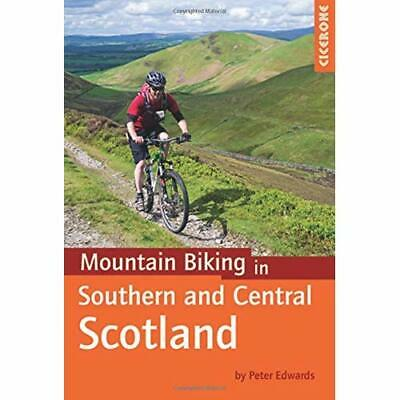 Mountain Biking in Southern and Central Scotland  - Paperback NEW Edwards, Peter