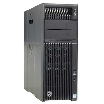HP Workstation Z640 6C Xeon E5-2620 V3 2,4GHz 16GB 500GB