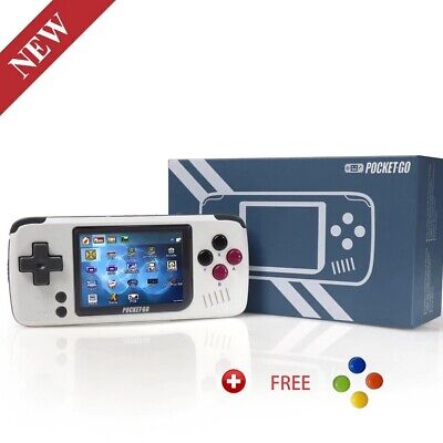 Confortable Playing Video Game Console -PocketGO - Portable Handheld Retro Game