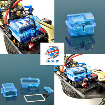 Blue 54x37x35mm Sealing waterproof Box Receiver Water-proof Box for RC Car Boat