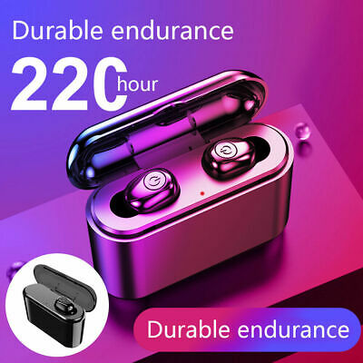 Wireless Headphones TWS Mini True Bluetooth 5.0 Stereo Earphones In-Ear Headset