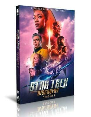 Star Trek Discovery Season 2 COMPLETE (DVD ,4-Disc Set) Brand New SHIPPING NOW!