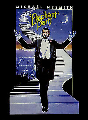 Elephant Parts Poster Autographed by Michael Nesmith