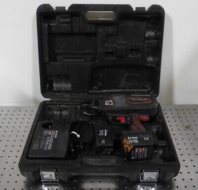 G161634 Pexgun PG-101 Automatic Pex Pipe Tie Tool, Batteries, Charger, Parts/Rep