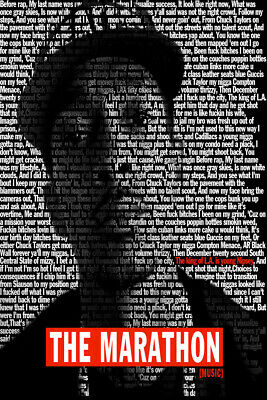 V1057 Nipsey Hussle Albums Cover Poster Victory Lap Marathon wall pictures24x36