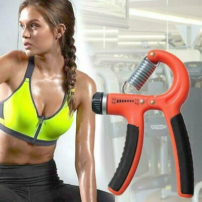Adjustable Hand Grip Power Exerciser Forearm Wrist Gripper Strengthener A4K6