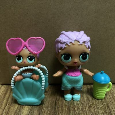 2PCS Original LOL Surprise Doll MERBABY Family & Bag THEATER Toys Girl Gifts