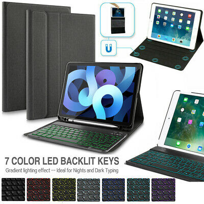 "Wireless Bluetooth Backlit Keyboard Case For iPad 9.7"" 6th/5th 2018/2017 Air 1 2"
