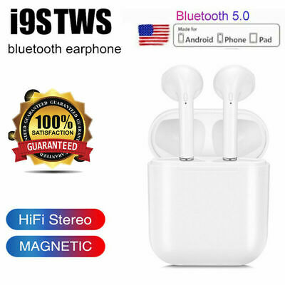Dual Wireless Bluetooth Earphone Earbuds For IOS Android Universal Phone Models