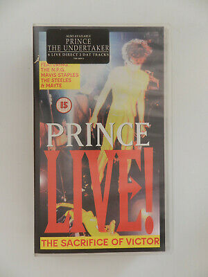 VHS Video Kassette Prince The sacrifice of Victor Live