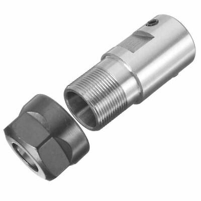 Extension Rod Toolholder Collet CNC Milling Clamp ER11-A Silver Durable