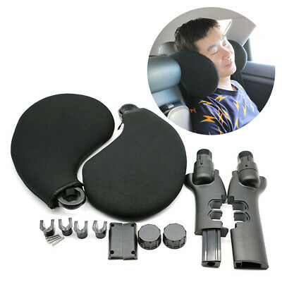 Car Seat Pillow Travel Neck Support Headrest For Children Adults Adjustable