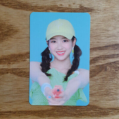 Jiho Official Photocard Concept Zone Oh My Girl Summer Package Fall in Love