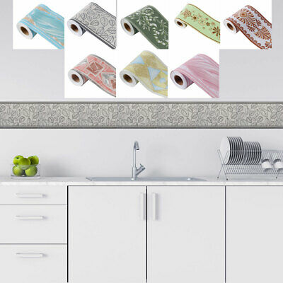 Wall Paper Border Self Stick PVC for Kitchen Bedroom Wall Window Decor