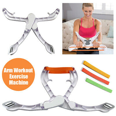 Wonder Arms Workout Fitness Upper Arm Grip Body Power Training Exercise Machine